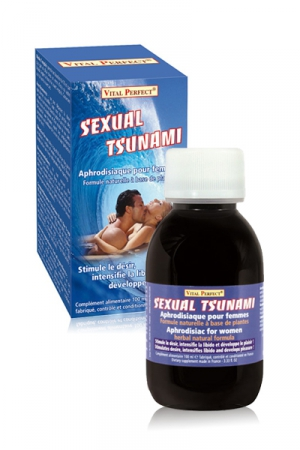 Sexual Tsunami : Cet aphrodisiaque stimule le désir, intensifie la libido et développe le plaisir féminin.