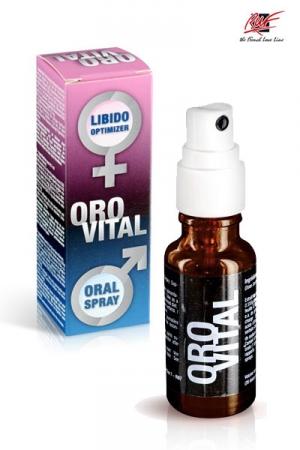 Spray stimulant Orovital : Un aphrodisiaque puissant en Spray, pour hommes et femmes.