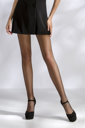 Collants résille TI016 - noir : Collants en résille.
