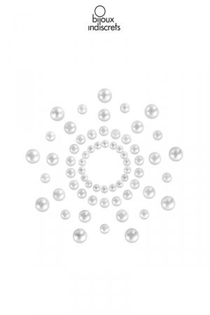 Bijoux de seins Mimi perle : Bijoux de corps en forme de perles à poser en corole autour du mamelon.
