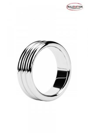 Metal ring Triple steel - Malesation : Cockring haute qualité composé de trois anneaux en acier inoxydable.