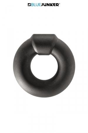 Cockring épais silicone - Blue Junker : Cockring en silicone épais, doux et extensible, pour renforcer l'érection et retarder l'éjaculation, marque Blue Junker.