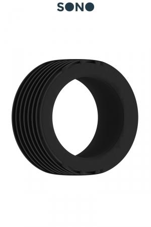 Cockring SONO 42 : Cockring doux et  hyper extensible en Soft TPE pour accroitre les sensations et renforcer l'érection.