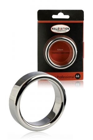 Metal Ring Professional - Malesation : Cockring haute qualité en acier inoxydable, lourd, large et épais pour les plus expérimentés.