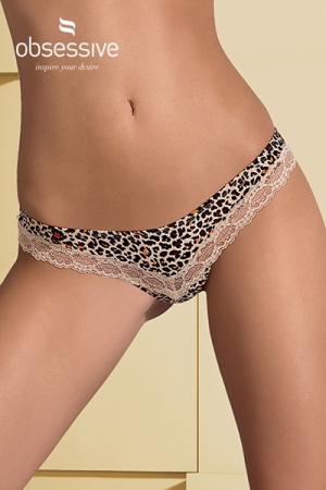 String sexy Jungirl : Un superbe string avec motif Léopard pour faire ressortir le côté félin qui sommeille en vous.