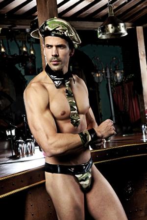 Déguisement sexy militaire 5 pièces : Tout le nécessaire pour vous déguiser en militaire ultra sexy!