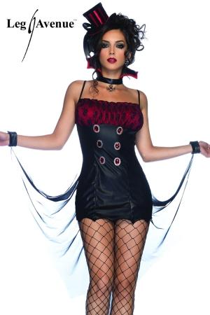 Costume sexy Vampirella : Vampirella, un costume de démon à la séduction sulfureuse.