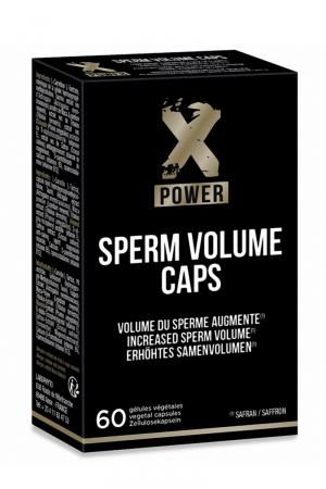 Sperm Volume Caps (60 gélules) - XPower : Permet d'augmenter le volume et la qualité du sperme, ainsi que l'intensité des orgasmes.