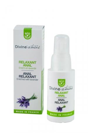 Relaxant Anal - Divinextases : Douceur et détente sont indissociables d'une sodomie réussie...ce relaxant anal vous garantit un plaisir total.