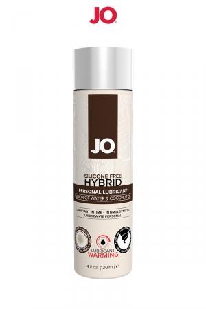 Lubrifiant hybride sans silicone effet chaud 120 ml : A base d'eau et d'huile de noix de Coco, ce lubrifiant hybride effet chaud est un Must Have de la marque System Joe.