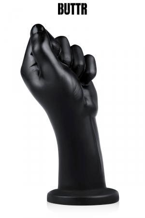 Gode géant Fist Corps - BUTTR : Gode géant (diamètre de 5,7 à 8,6 cm) spécial fist-fucking en PVC, reproduisant un poing fermé.