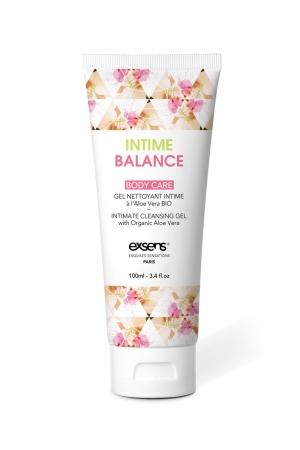 Gel nettoyant intime balance - Exsens : Ayez une hygiène intime irréprochable avec ce gel composé à 97% d'ingrédients d'origine naturelle, par Exsens.