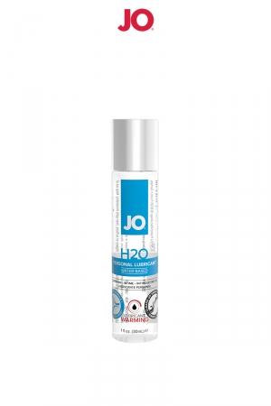 Lubrifiant H2O effet chaud 30 ml : Le lubrifiant de référence de System Jo, à base d'eau et totalement neutre pour plus de plaisir.