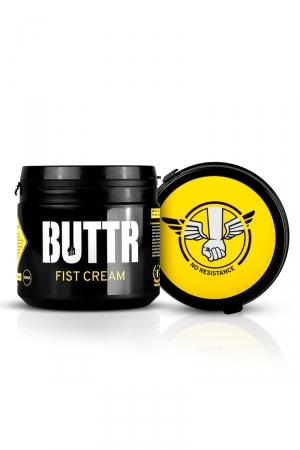Crème lubrifiante BUTTR Fist Cream : Crème ultra glissante à base de silicone, totalement adaptée aux fist fucking et aux pratiques de pénétrations extrêmes.