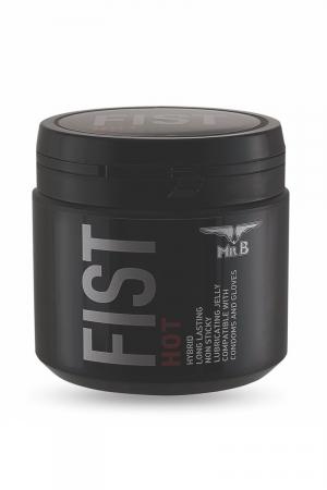 Lubrifiant Mister B FIST Hot (500 ml) : Lubrifiant spécial jeux extrêmes avec effets chauffants pour toujours plus de plaisir.
