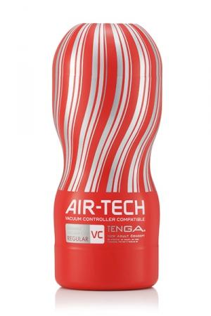 Masturbateur réutilisable Tenga Air-Tech VC Regular : Une stimulation unique et incroyable, répétable à volonté, et une compatibilité totale avec le Vacuum controller.