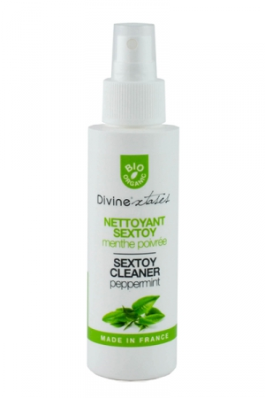 Nettoyant sextoys - Divinextases : Le nettoyant sextoys 100% BIO!