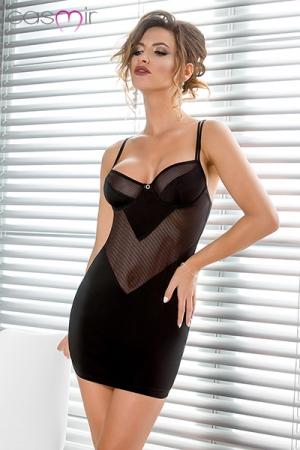 Nuisette Sissey : Une nuisette noire classe et très féminine.