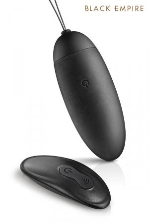 Oeuf vibrant télécommandé My Empress - Black Empire : Oeuf vibrant de luxe avec télécommande sans fil, 10 modes de vibrations, rechargeable par USB magnétique.