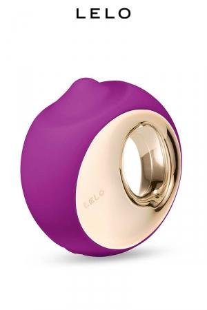 Simulateur de cunnilingus Ora 3 violet - Lelo : Pour les amatrices de langues agiles et de sexe oral, Lelo  propose Ora 3, son simulateur de cunnilingus haut de gamme.