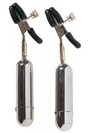 Pinces à seins sans fil : Pinces à seins clip vibrantes et sans fil.