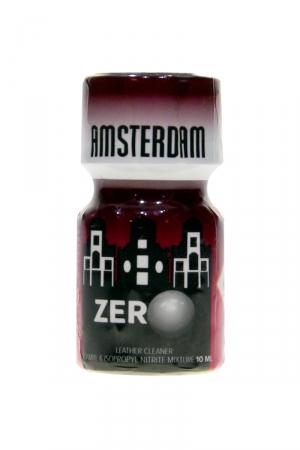Poppers Amsterdam zero 10ml : Avec sa formulation hybride amyle + Propyle, ce poppers est le plus puissant de la marque Amsterdam.