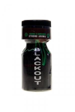 Poppers Blackout Propyl 10ml : Le Poppers Blackout est un arôme aphrodisiaque au Nitrite de Propyle, offrant des sensations fortes et immédiates.