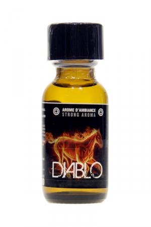 Poppers Diablo Propyl 25ml - Jolt : L'arôme aphrodisiaque diabolique en version Propyle 25ml, pour des fêtes 100% désinhibées.