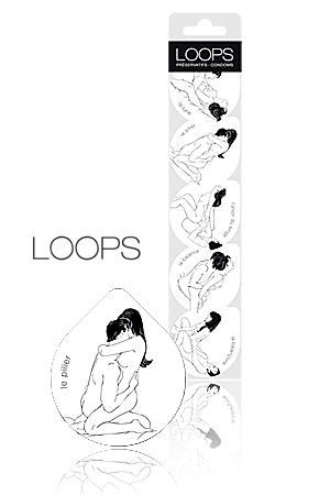 Préservatifs Kama Sutra - Loops : Avec la collection Kama Sutra de Loops, chaque préservatif est une source d'inspiration amoureuse.