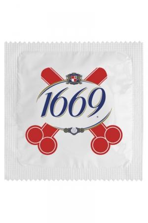 Préservatif humour - 1669 : Préservatif 1669, un préservatif personnalisé humoristique de qualité, fabriqué en France, marque Callvin.