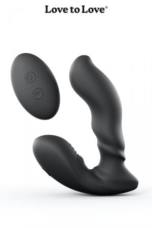 Stimulateur de prostate Player One : Stimulateur de prostate et périnée, ultra flexible,  vibrant et télécommandé, par Love To Love.